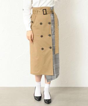 わたし定時で帰ります。吉高由里子衣装・トレンチタイトスカート