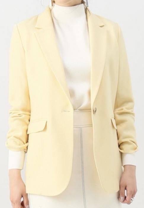 わたし定時で帰ります。衣装吉高由里子1話黄色ジャケット