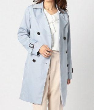 中村ゆり衣装2話水色コート