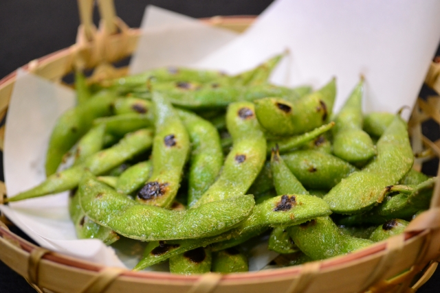 枝豆の蒸し焼き方法。フライパンで簡単・栄養も逃さない!