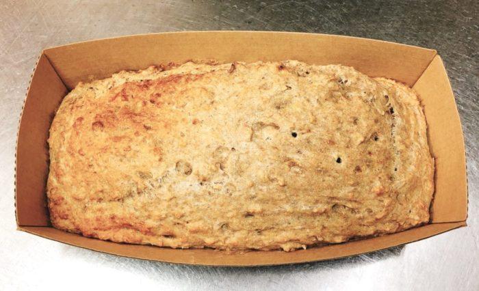 バナナの全粒粉ケーキ[砂糖・バター・牛乳・卵なし]の作り方/レシピ